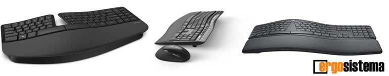 comprar teclado ergonomico