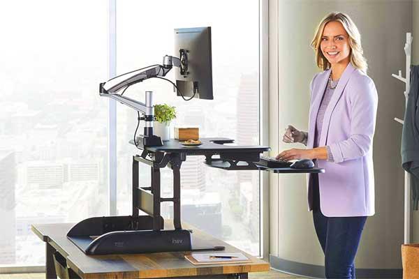 convertidor a escritorio de pie